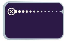 Simbolo di moltiplicazione illustrazione di stock