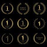 Simbolo di numero uno royalty illustrazione gratis