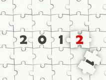 Simbolo di nuovo anno Fotografie Stock Libere da Diritti