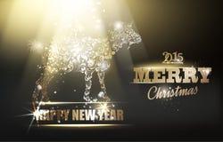 Simbolo di nuovo anno Fotografie Stock