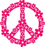 Simbolo di pace Fotografie Stock Libere da Diritti