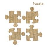 Simbolo di puzzle Fotografia Stock Libera da Diritti