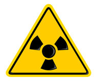 Simbolo di radiazione Immagine Stock Libera da Diritti