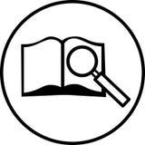 Simbolo di ricerca Fotografie Stock Libere da Diritti