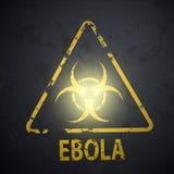 Simbolo di rischio biologico illustrazione vettoriale