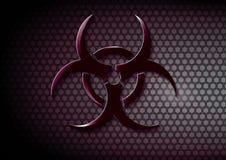 Simbolo di rischio biologico royalty illustrazione gratis