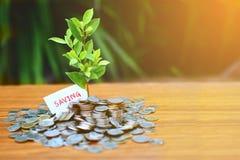 Simbolo di risparmio dei soldi immagine stock libera da diritti