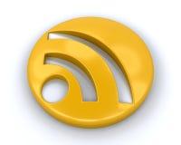 Simbolo di RSS Immagini Stock