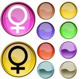Simbolo di sesso Immagini Stock Libere da Diritti