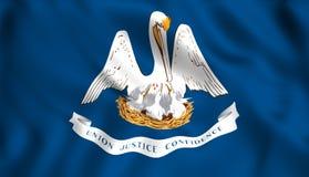 Simbolo di stato USA dello Stato di bandiera della Luisiana royalty illustrazione gratis