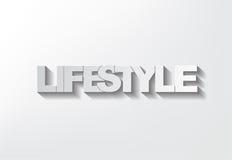 Simbolo di stile di vita Fotografia Stock Libera da Diritti