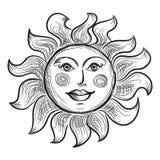 Simbolo di Sun Immagine Stock