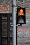 Simbolo di traffico dell'arresto Fotografia Stock Libera da Diritti