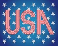 Simbolo di U.S.A. Immagine Stock