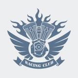Simbolo di un club di corsa, illustrazione di vettore Fotografie Stock