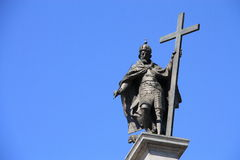 Simbolo di Varsavia Fotografia Stock