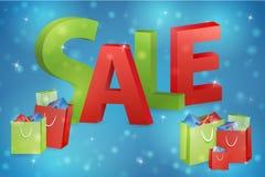 Simbolo di vendita di Natale Fotografia Stock