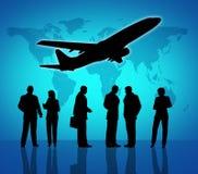 Simbolo di viaggio d'affari illustrazione vettoriale