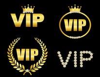 Simbolo di VIP illustrazione di stock