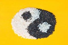 Simbolo di Yin Yang fotografia stock libera da diritti
