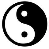 Simbolo di Yin Yang Fotografie Stock