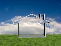 Simbolo domestico Fotografia Stock