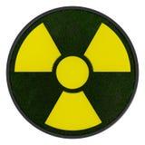 simbolo ecologico di radioattività 3D Fotografia Stock