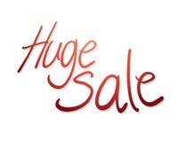 Simbolo enorme di vendita illustrazione di stock