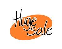 Simbolo enorme di vendita illustrazione vettoriale