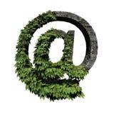 Simbolo fogliame/della pietra @ royalty illustrazione gratis