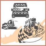 simbolo fuori strada 4x4. illustrazione vettoriale
