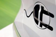 Simbolo ibrido dell'automobile Immagini Stock