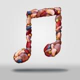 Simbolo intestinale del gas di flatulenza illustrazione vettoriale