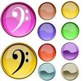 Simbolo musicale Immagini Stock