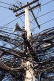 Simbolo occupato di comunicazione del cavo Immagini Stock