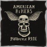 Simbolo per il club del motociclista Fotografia Stock
