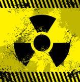 Simbolo radioattivo illustrazione vettoriale