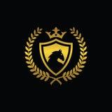 Simbolo reale del cavallo Illustrazione di Stock