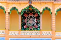 Simbolo religioso di Caodai Fotografia Stock