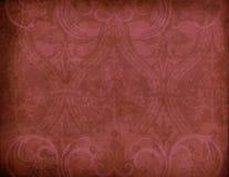 Simbolo rosso del velluto Fotografia Stock Libera da Diritti