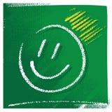 Simbolo semplice di sorriso illustrazione di stock
