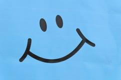 Simbolo sorridente del fronte Fotografie Stock