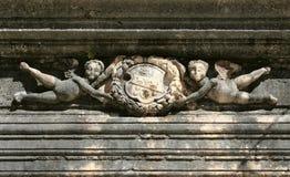 Simbolo sul palazzo immagine stock