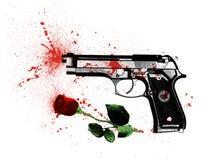 Crimine per amore Fotografia Stock Libera da Diritti