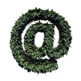 Simbolo verde del fogliame @ royalty illustrazione gratis