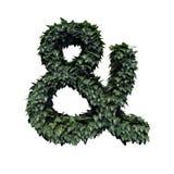 Simbolo verde del fogliame e & royalty illustrazione gratis
