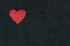 Simbolo verniciato del cuore fotografie stock libere da diritti