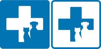 Simbolo veterinario Fotografie Stock