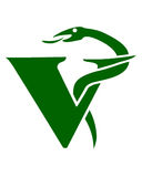Simbolo veterinario Fotografia Stock Libera da Diritti