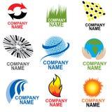 Simbols d'affaires Images stock